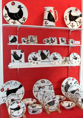 New Pottery - Chickens