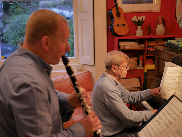 Phil Bonser (clarinet) & Joe Skivington (piano)